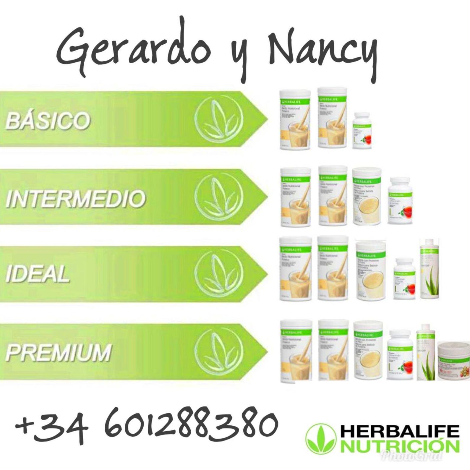 Control de peso: Productos y servicios de Herbanutrición