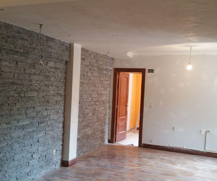 Reforma de salón de vivienda en Bilbao