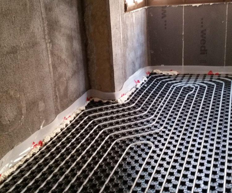 Instalación de suelo radiante en Bilbao