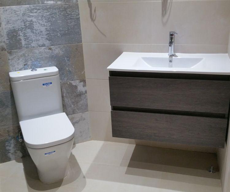 Reforma integral de baño en Basauri
