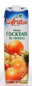 Cofrutos cocktail de frutas 1l: PRODUCTOS de La Cabaña 5 continentes