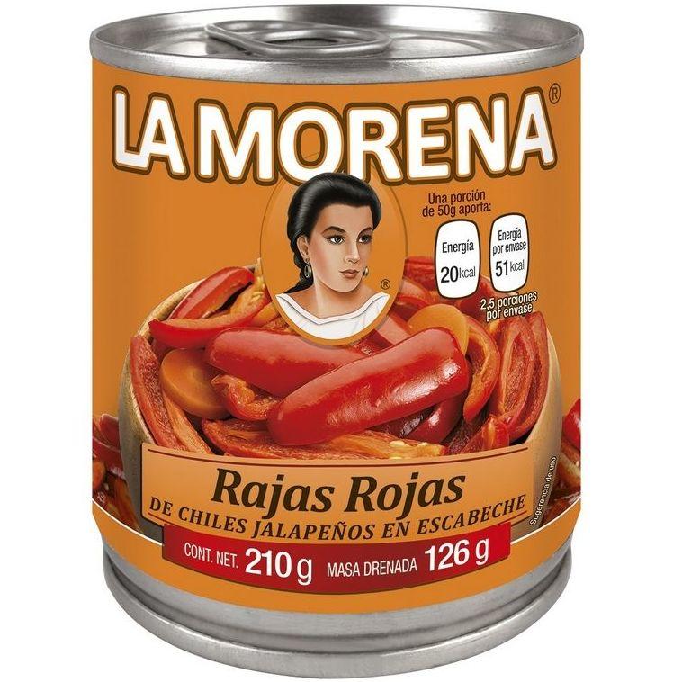 Rajas rojas La Morena : PRODUCTOS de La Cabaña 5 continentes