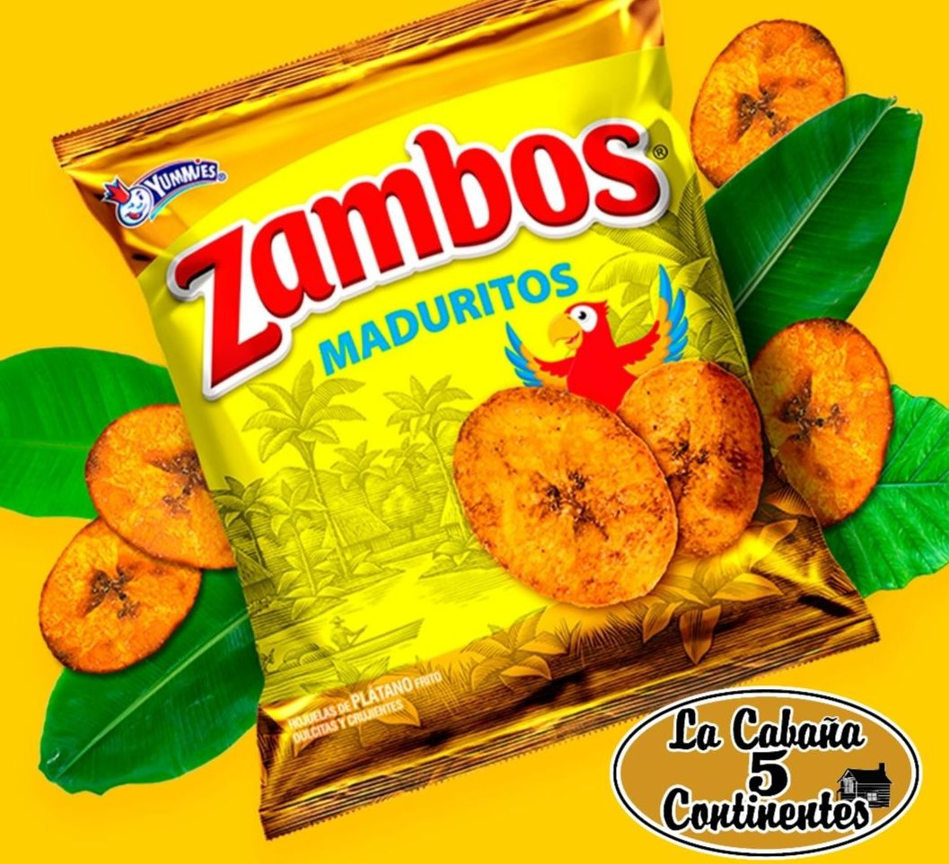 zambos maduritos: PRODUCTOS de La Cabaña 5 continentes