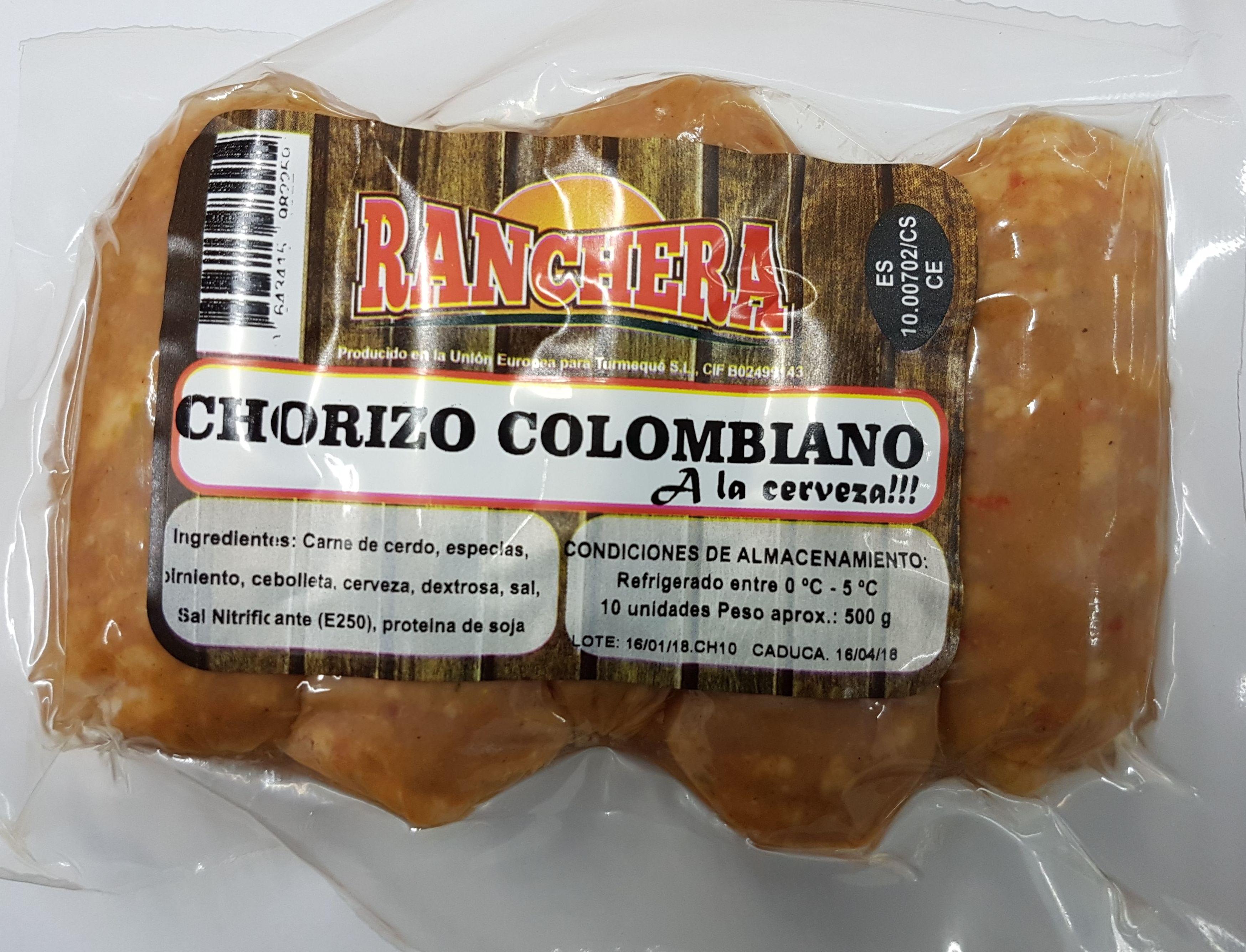 Chorizo Ranchera a la cerveza x 10 unidades: PRODUCTOS de La Cabaña 5 continentes