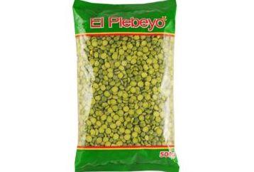 Arveja partida verde El Plebeyo 500 gr: PRODUCTOS de La Cabaña 5 continentes