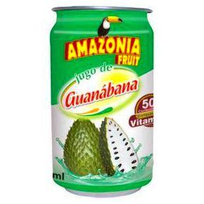 Jugo Amazonia guanábana: PRODUCTOS de La Cabaña 5 continentes