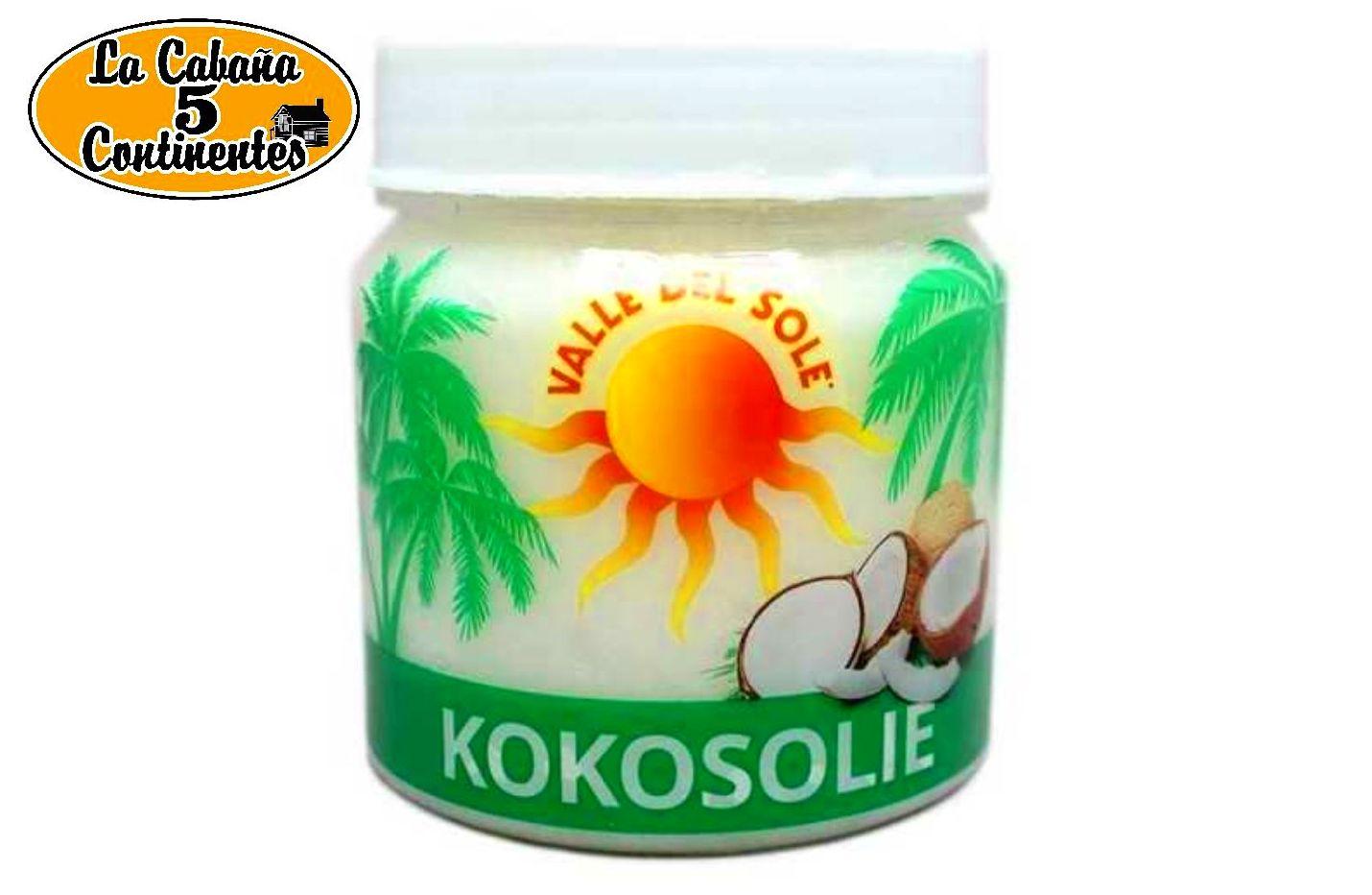 ACEITE DE COCO ORGANICO KOKOSOLEI: PRODUCTOS de La Cabaña 5 continentes