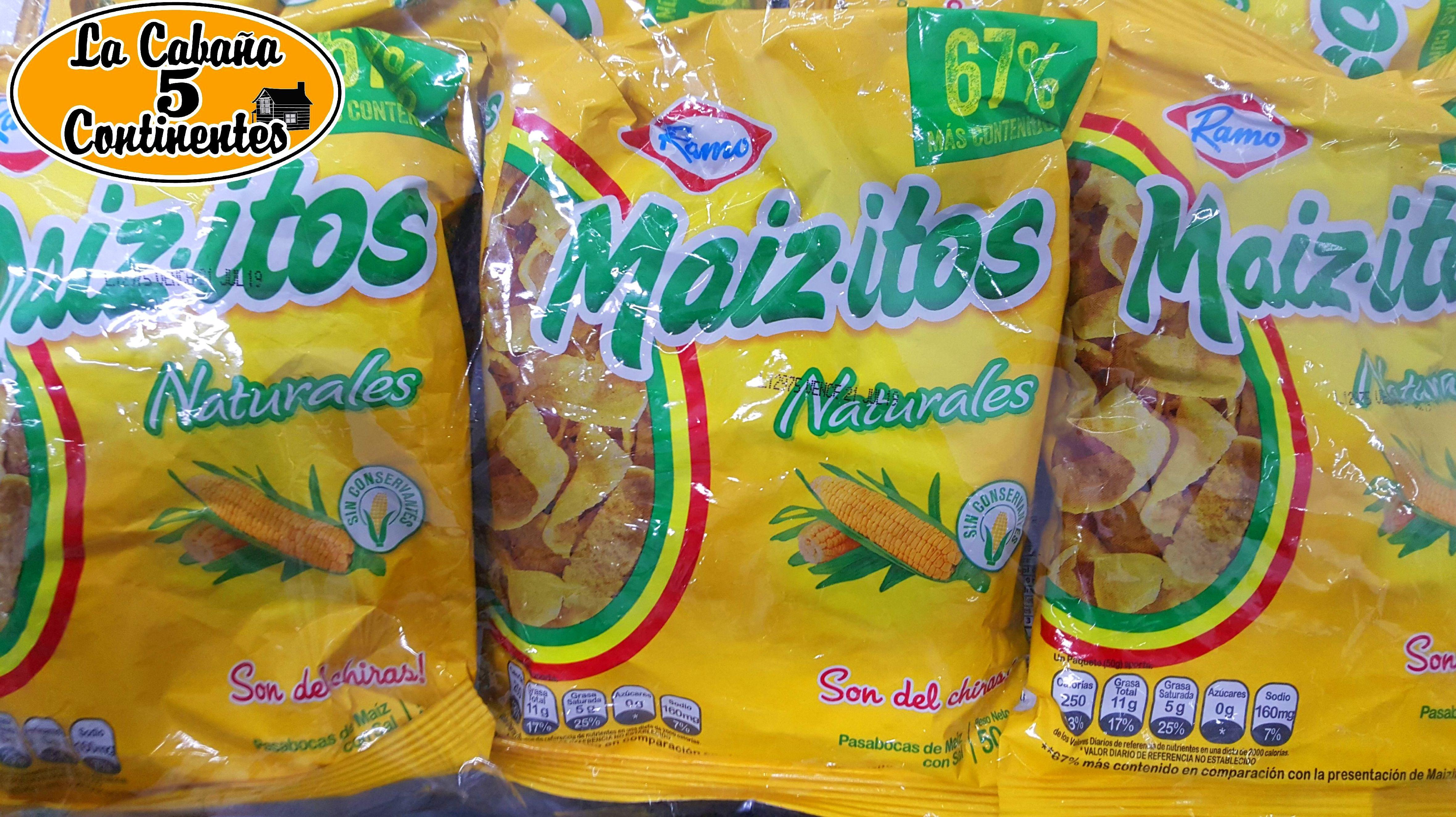 maiz-itos: PRODUCTOS de La Cabaña 5 continentes