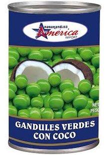Guandul con coco América : PRODUCTOS de La Cabaña 5 continentes