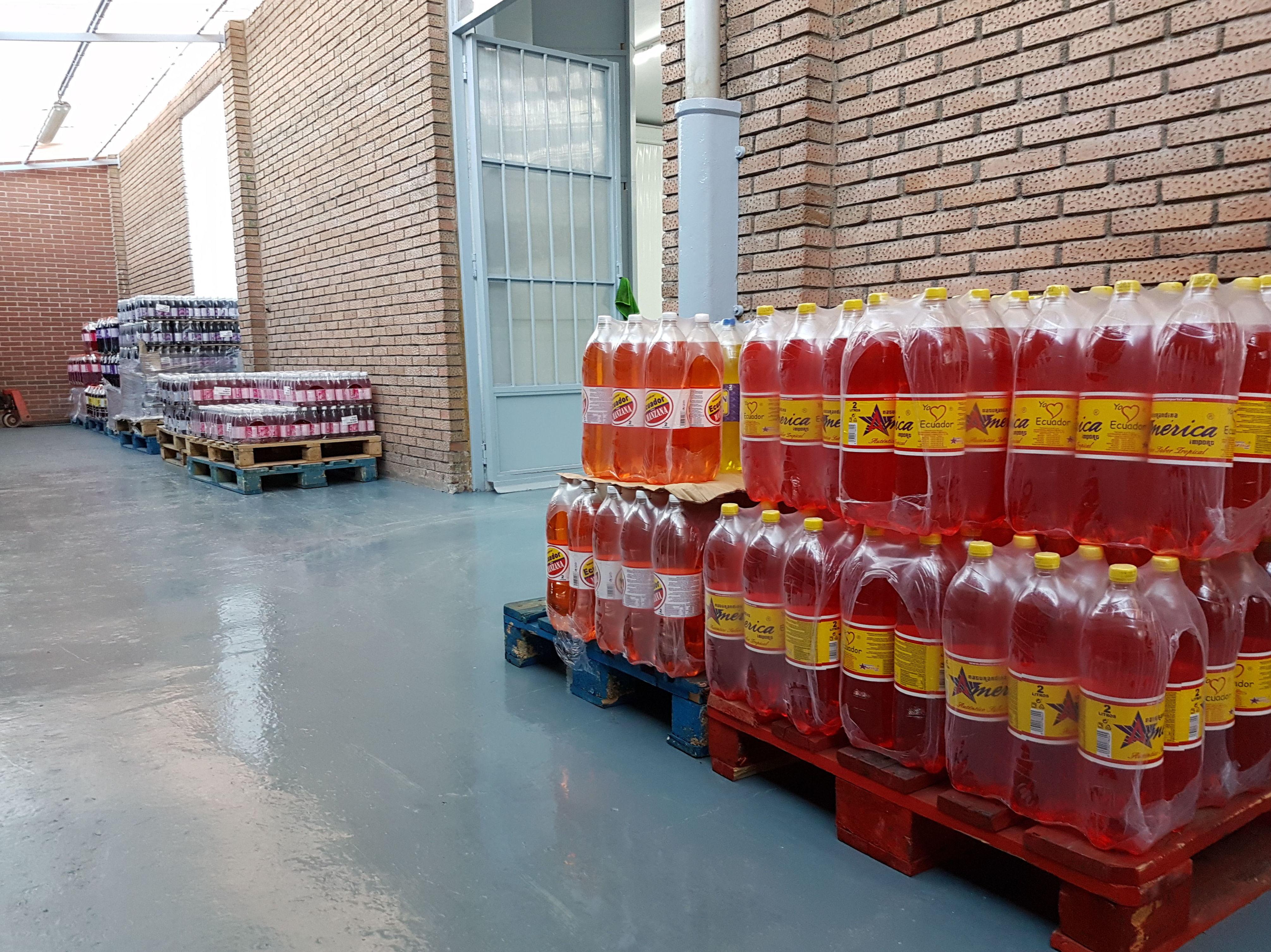 En nuestro muelle encontrarás las gaseosas más solicitadas en el mercado latinoamericano.