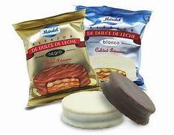 Alfajores Mardel chocolate blanco: PRODUCTOS de La Cabaña 5 continentes