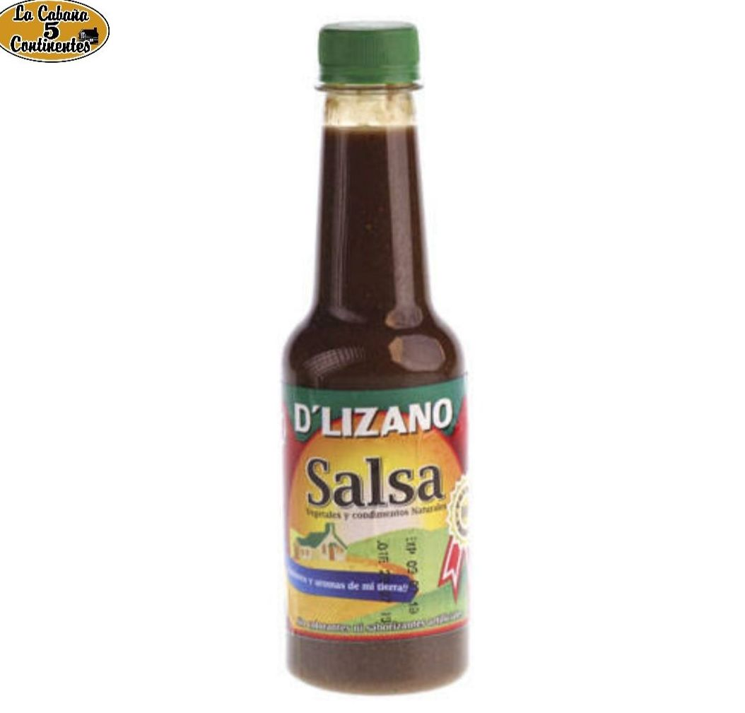 SALSA D´ LIZANO: PRODUCTOS de La Cabaña 5 continentes