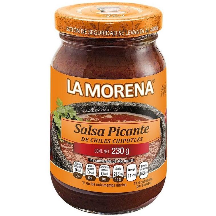 Salsa picante de chipotle La Morena: PRODUCTOS de La Cabaña 5 continentes