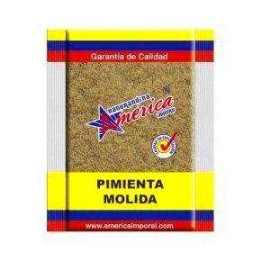 Pimienta molida América: PRODUCTOS de La Cabaña 5 continentes