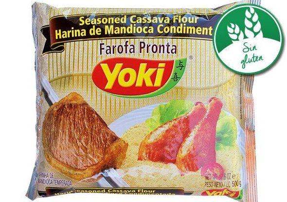 Farola pronta de yuca Yoki: PRODUCTOS de La Cabaña 5 continentes