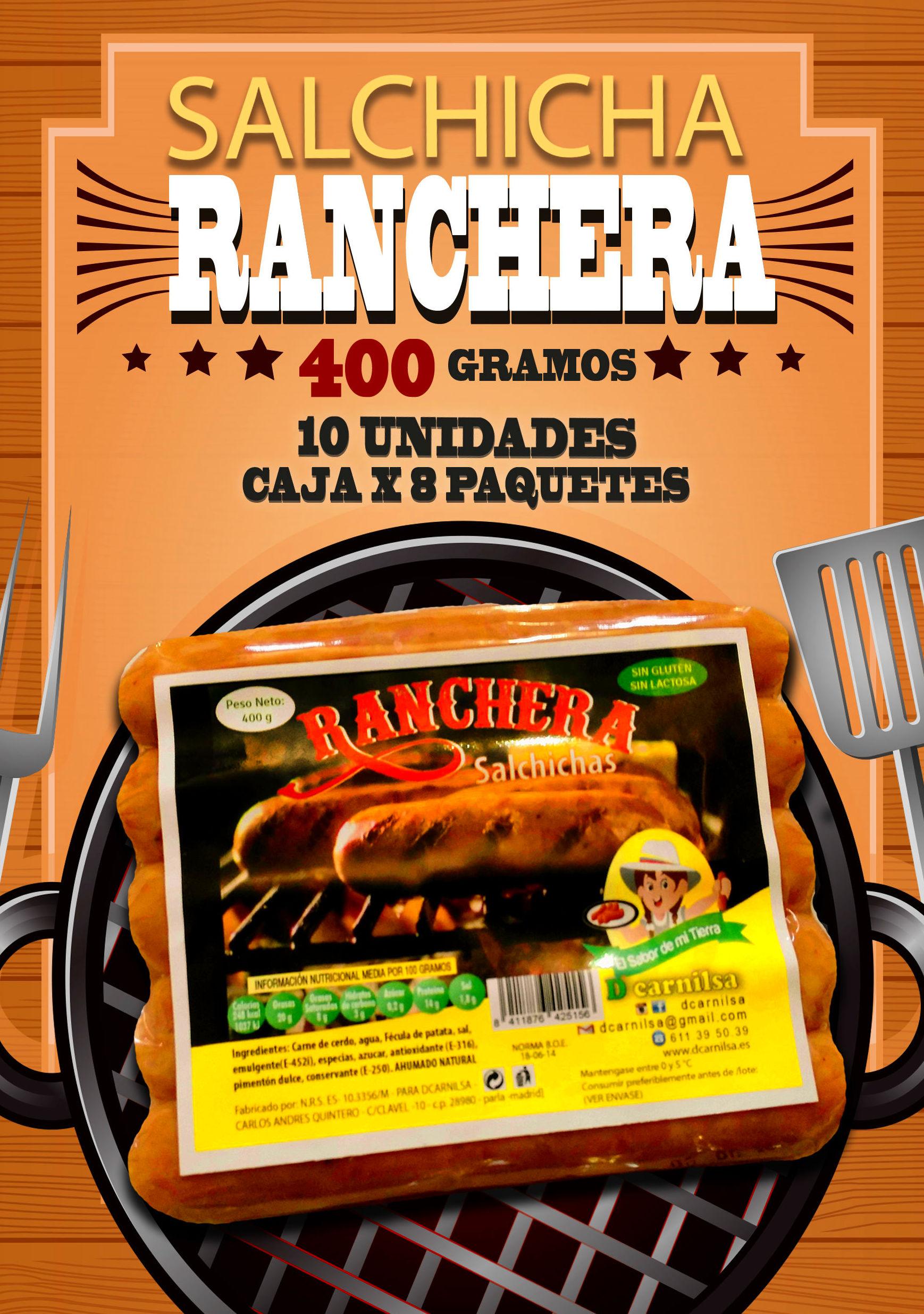 Salchichas rancheras Santa rosano x 10: PRODUCTOS de La Cabaña 5 continentes