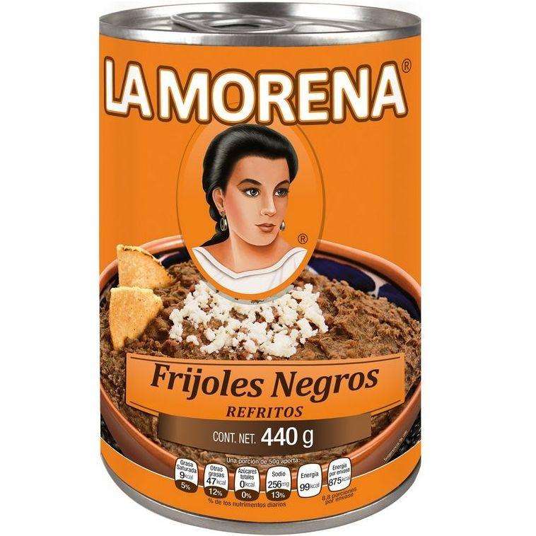 Frijol negro refrito La Morena : PRODUCTOS de La Cabaña 5 continentes