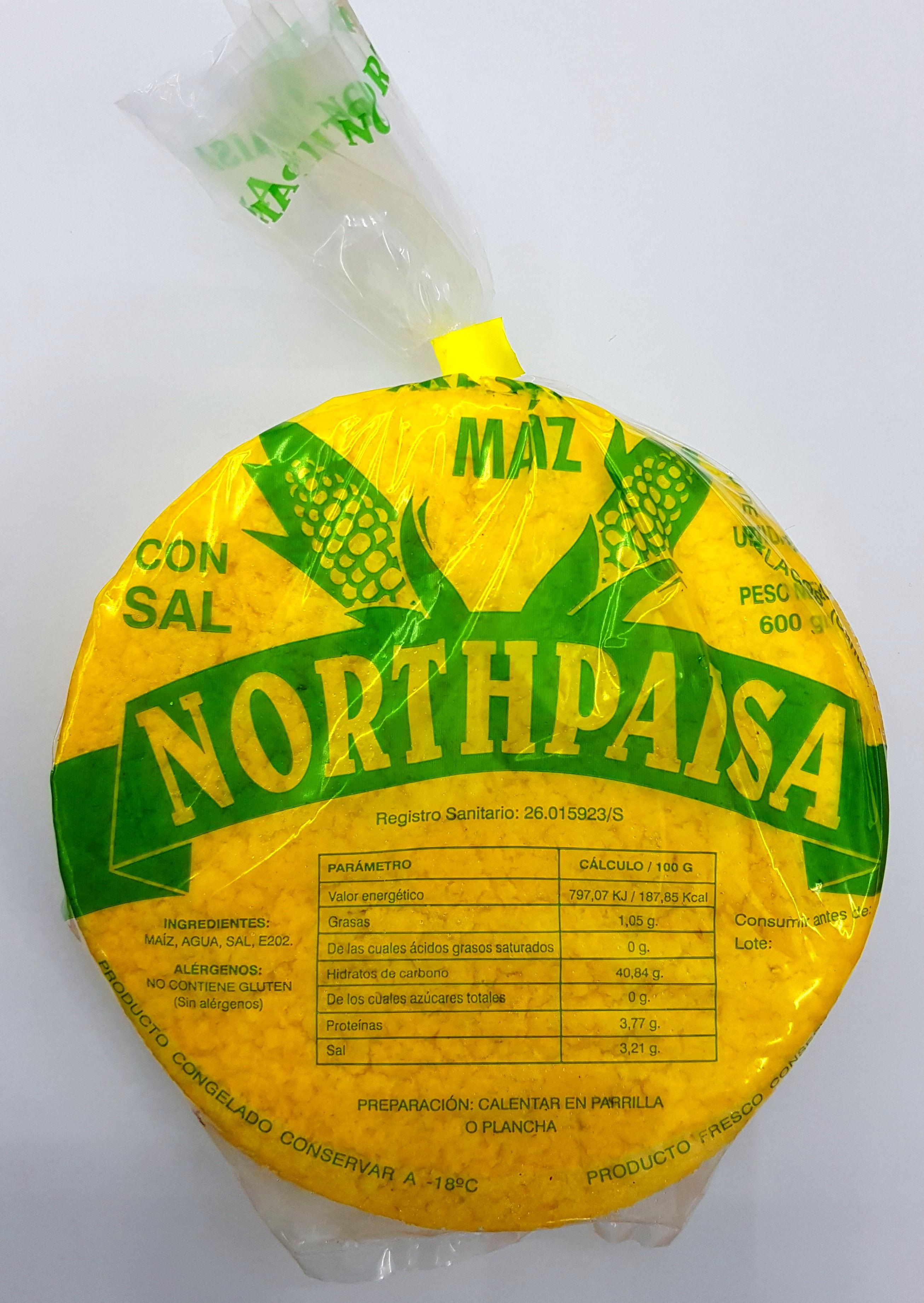 NORTHPAISA MAIZ AMARILLO: PRODUCTOS de La Cabaña 5 continentes