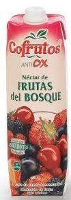 Cofrutos Frutas del bosque brick 1l.: PRODUCTOS de La Cabaña 5 continentes