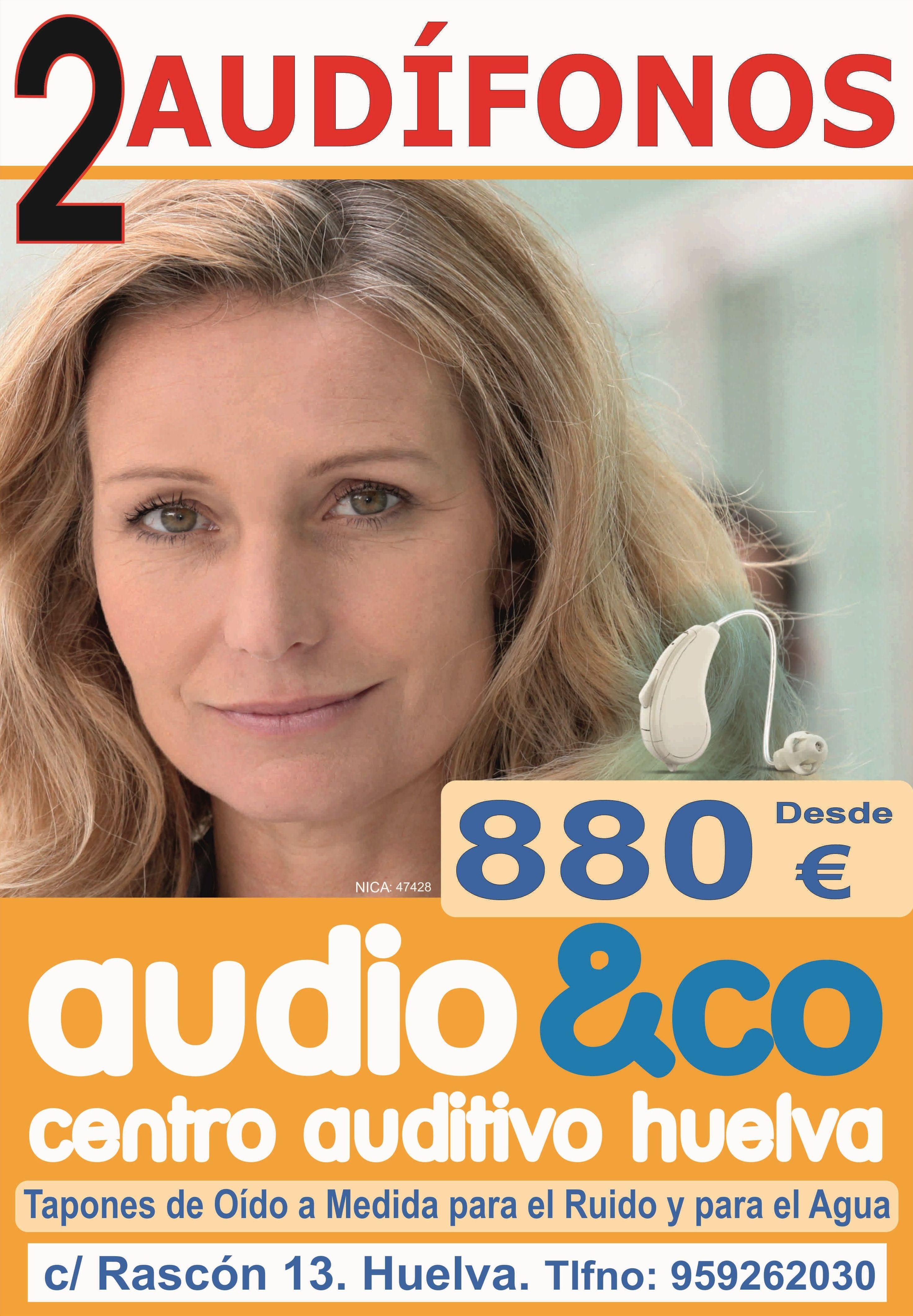 AUDIFONOS DESDE 880 EUROS: Servicios - Promociones de Visión & CO Huelva