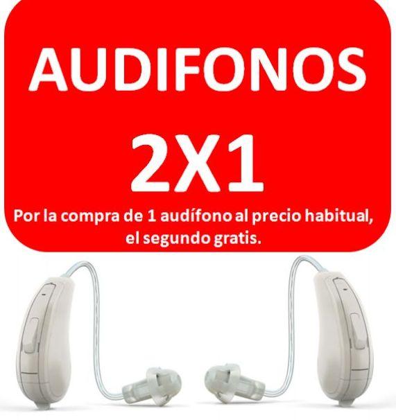 Audífonos 2X1