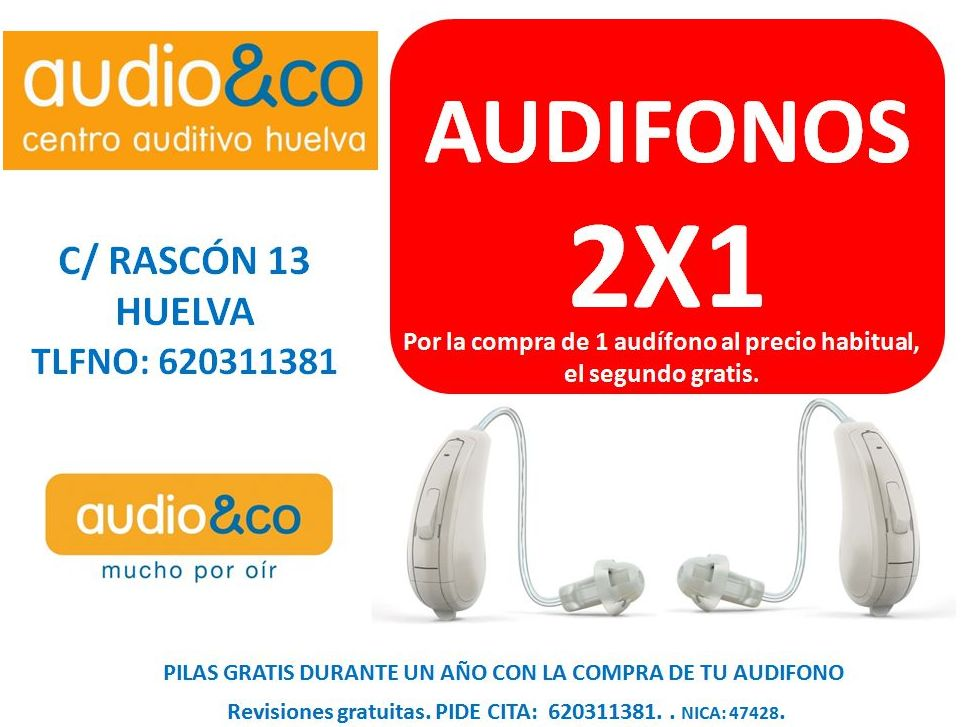 AUDIFONOS: 2 AL PRECIO DE 1.