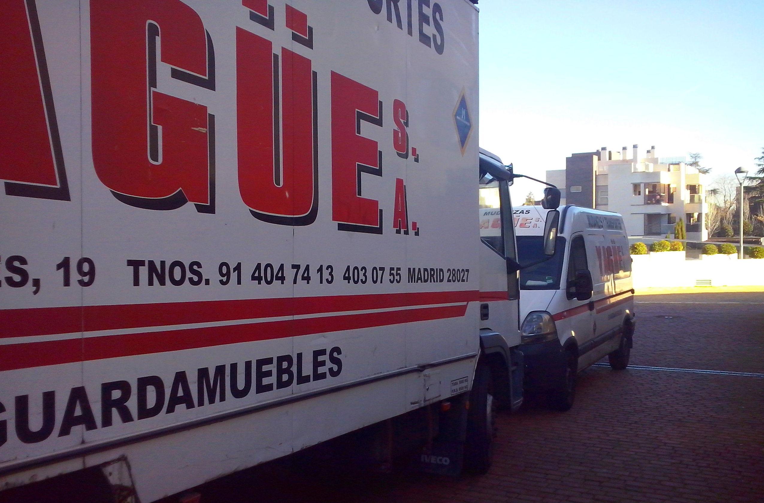 Foto 13 de Mudanzas y guardamuebles en Madrid | Mudanzas Yagüe              914047413