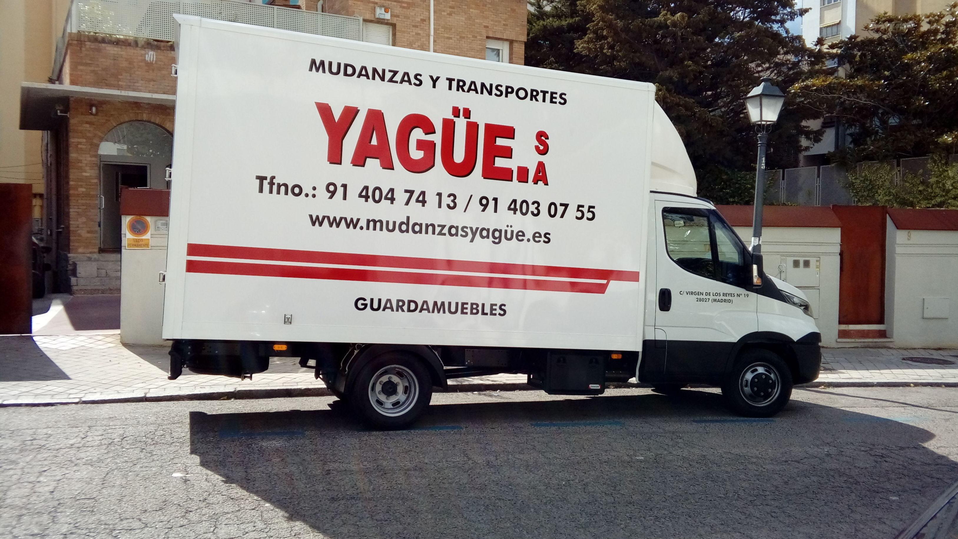 Foto 18 de Mudanzas y guardamuebles en Madrid | Mudanzas Yagüe              914047413