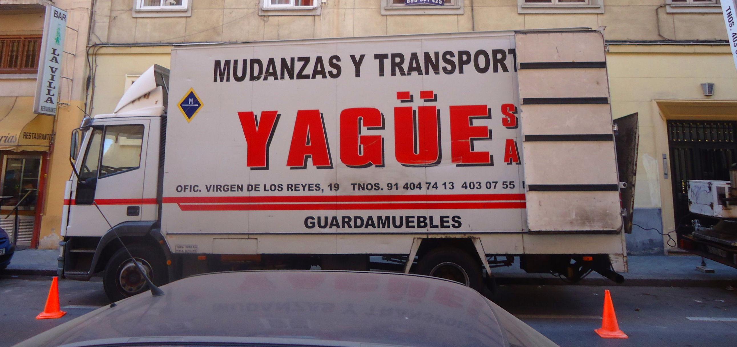 Foto 25 de Mudanzas y guardamuebles en Madrid | Mudanzas Yagüe              914047413