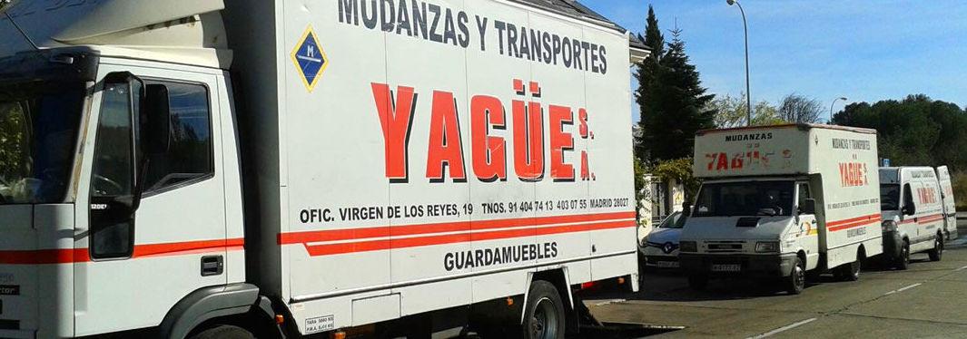MUDANZAS DE EMPRESAS: SERVICIOS  de Mudanzas Yagüe              914047413