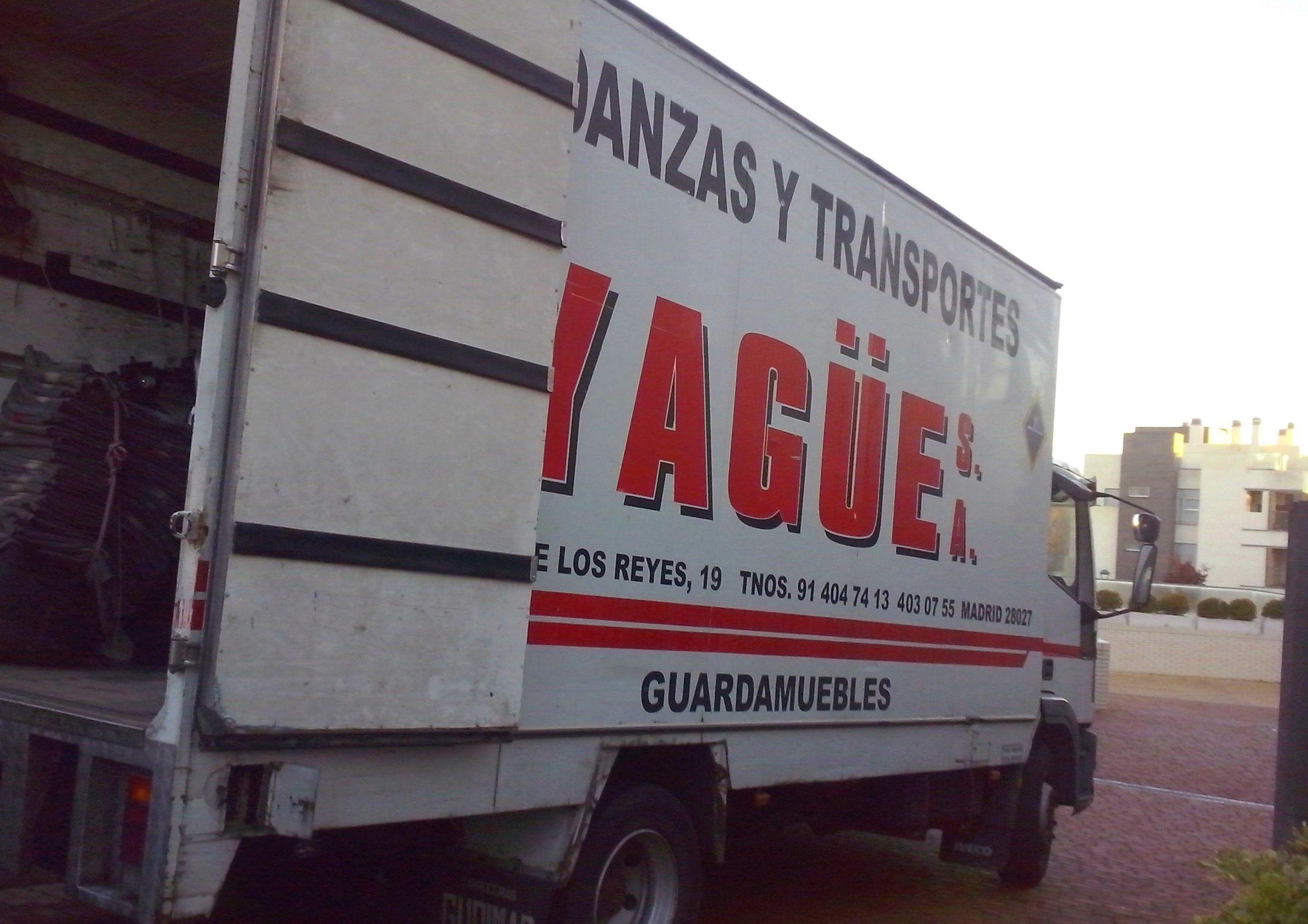 Foto 12 de Mudanzas y guardamuebles en Madrid | Mudanzas Yagüe              914047413