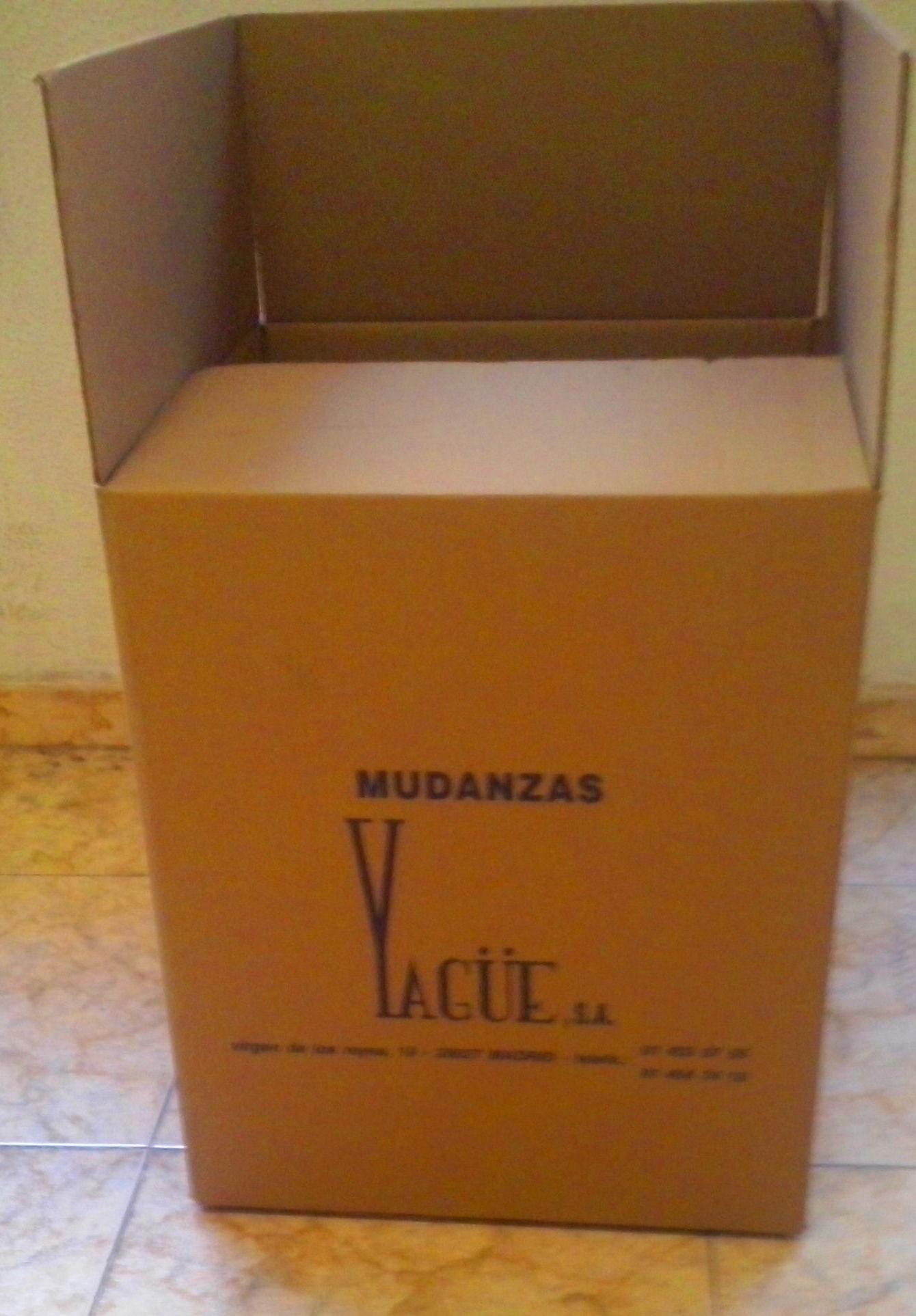 CAJAS PARA VAJILLA: SERVICIOS  de Mudanzas Yagüe              914047413