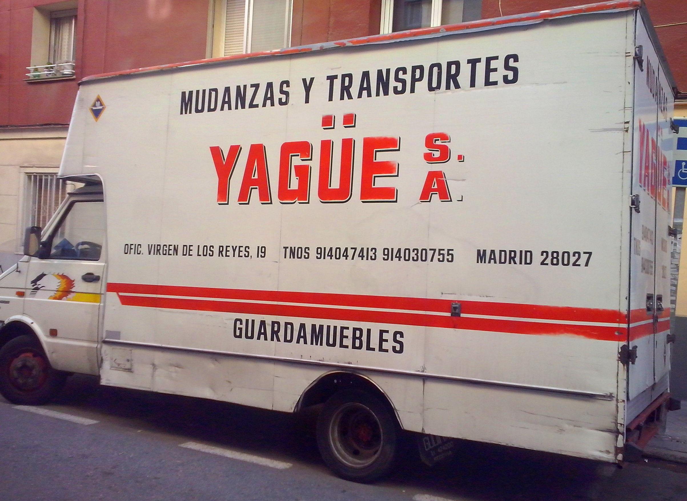 Foto 15 de Mudanzas y guardamuebles en Madrid | Mudanzas Yagüe              914047413