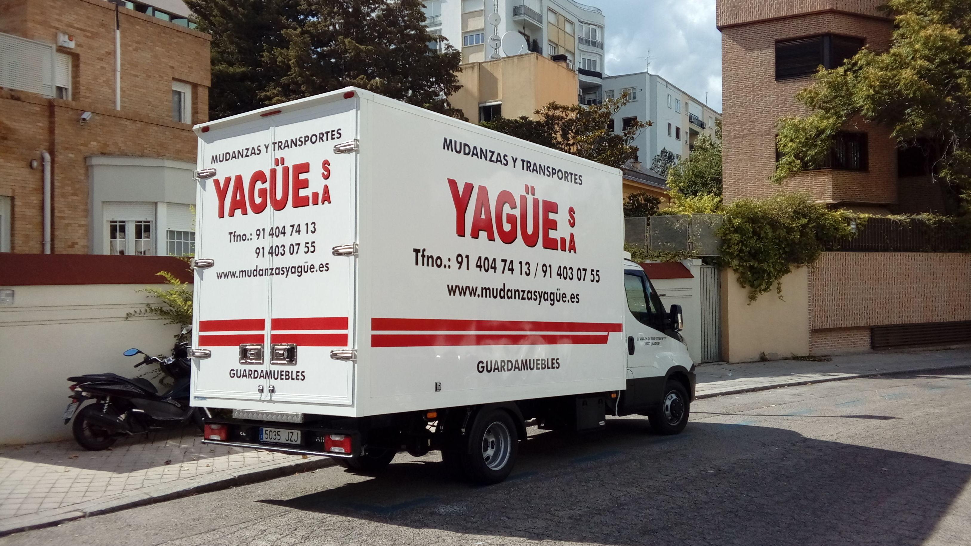 Foto 3 de Mudanzas y guardamuebles en Madrid | Mudanzas Yagüe              914047413