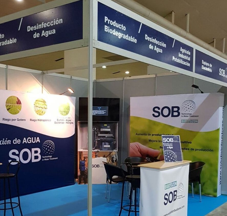 Stand en Fame Innowater 2017. Torre Pacheco (Murcia)