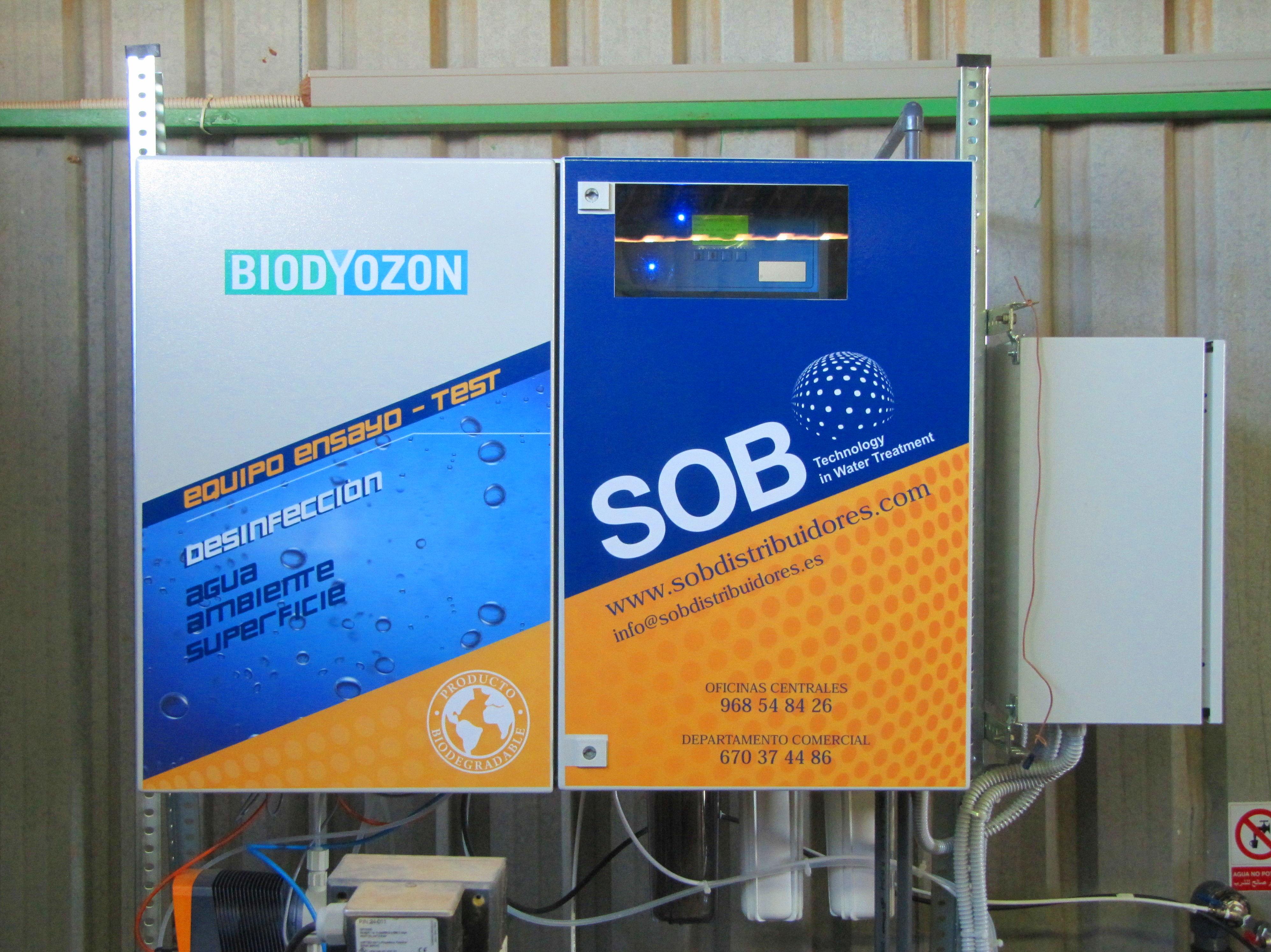 Foto 7 de Desinfección de aguas en Atamaría | SOB Distribuidores