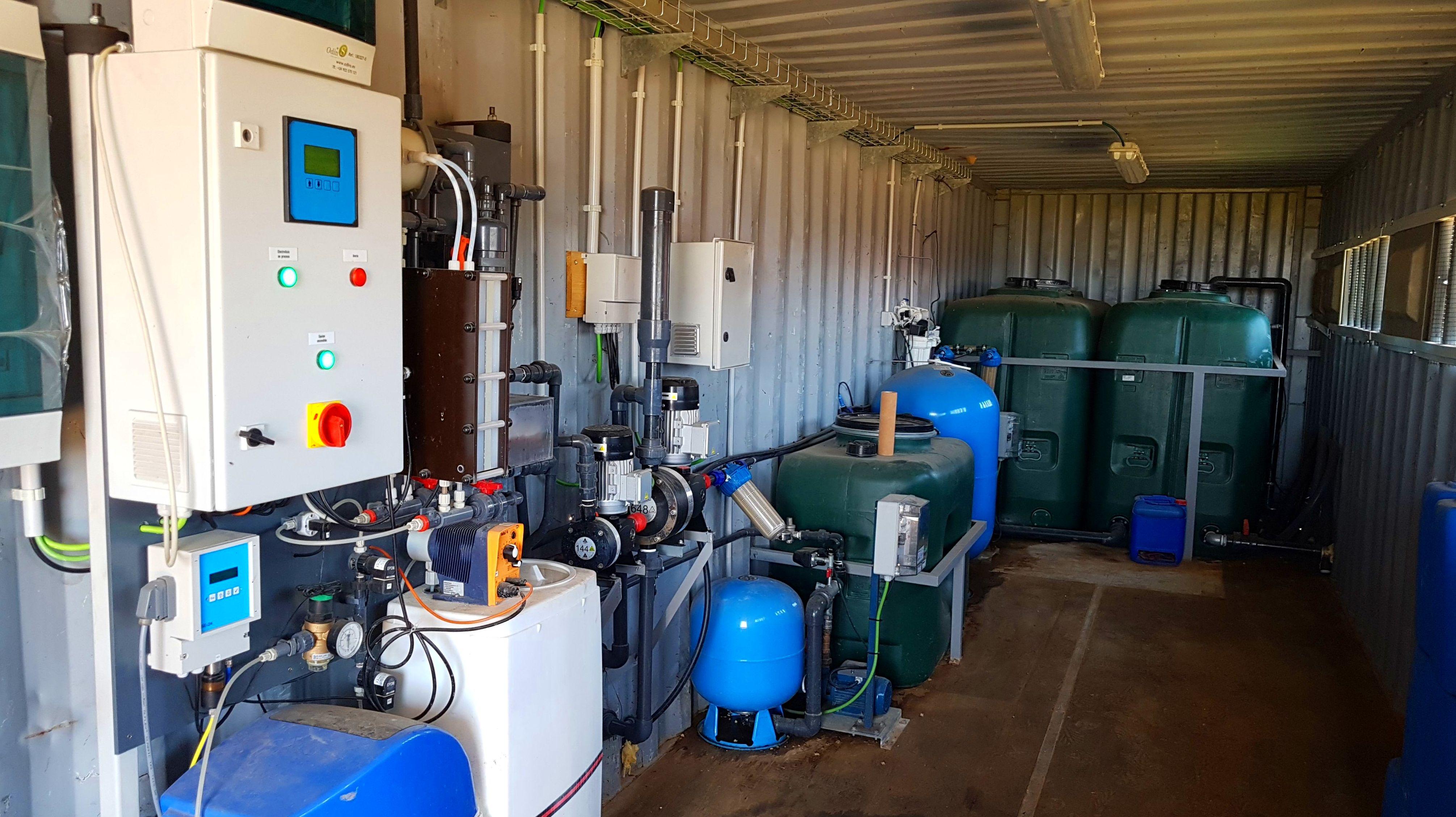 Foto 6 de Desinfección de aguas en Atamaría | SOB Distribuidores