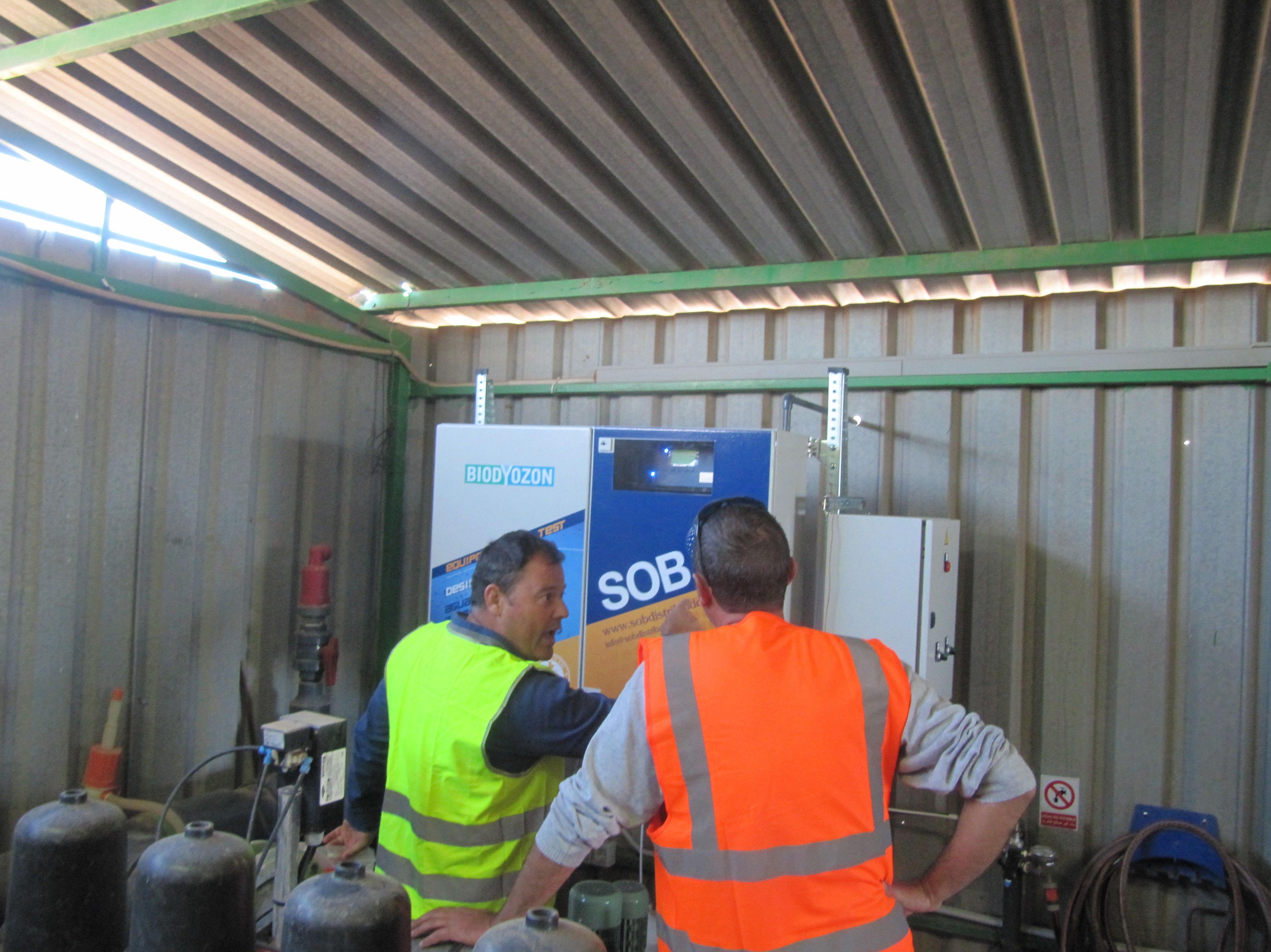 Foto 9 de Desinfección de aguas en Atamaría | SOB Distribuidores