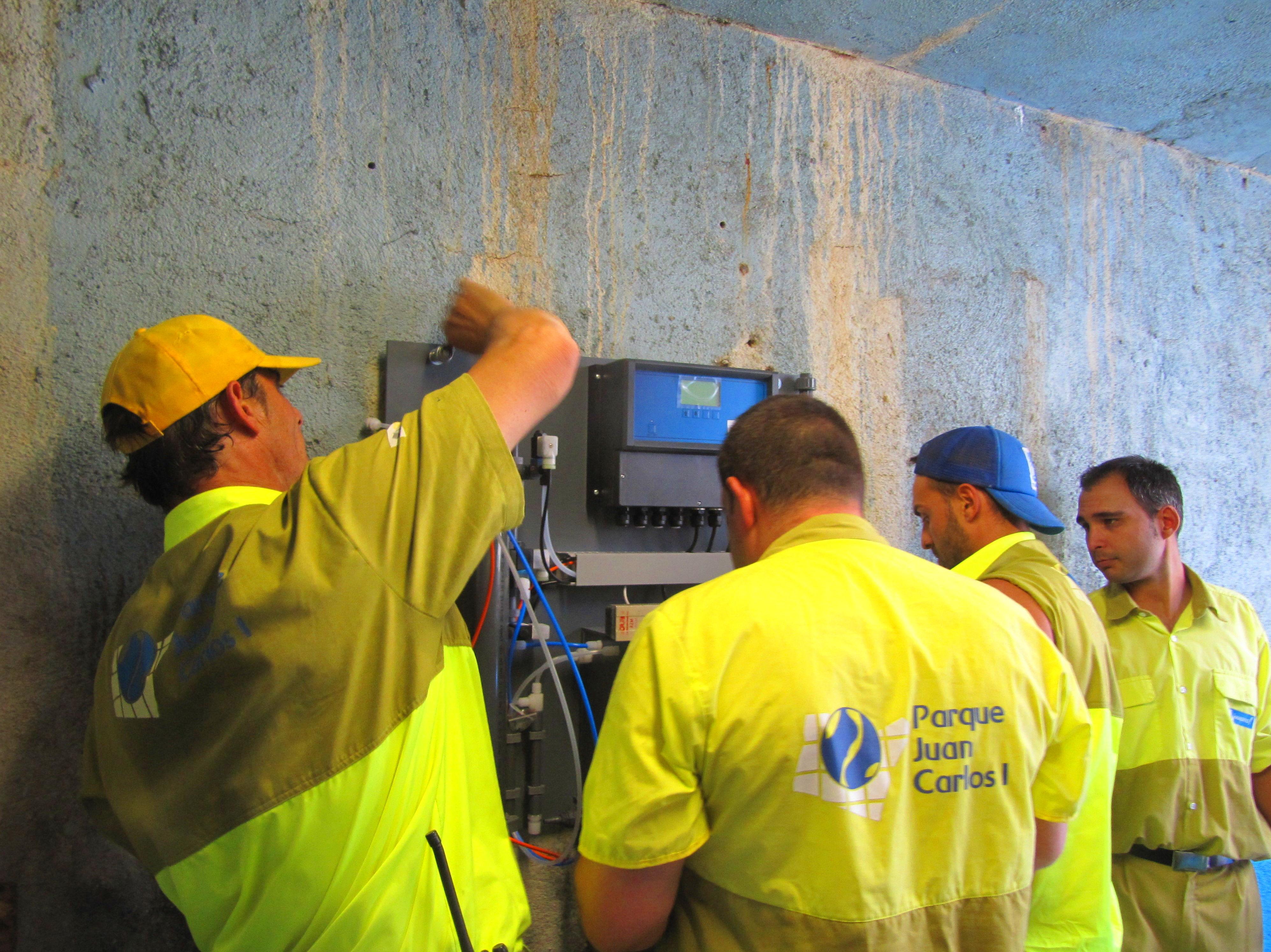 Foto 1 de Desinfección de aguas en Atamaría | SOB Distribuidores