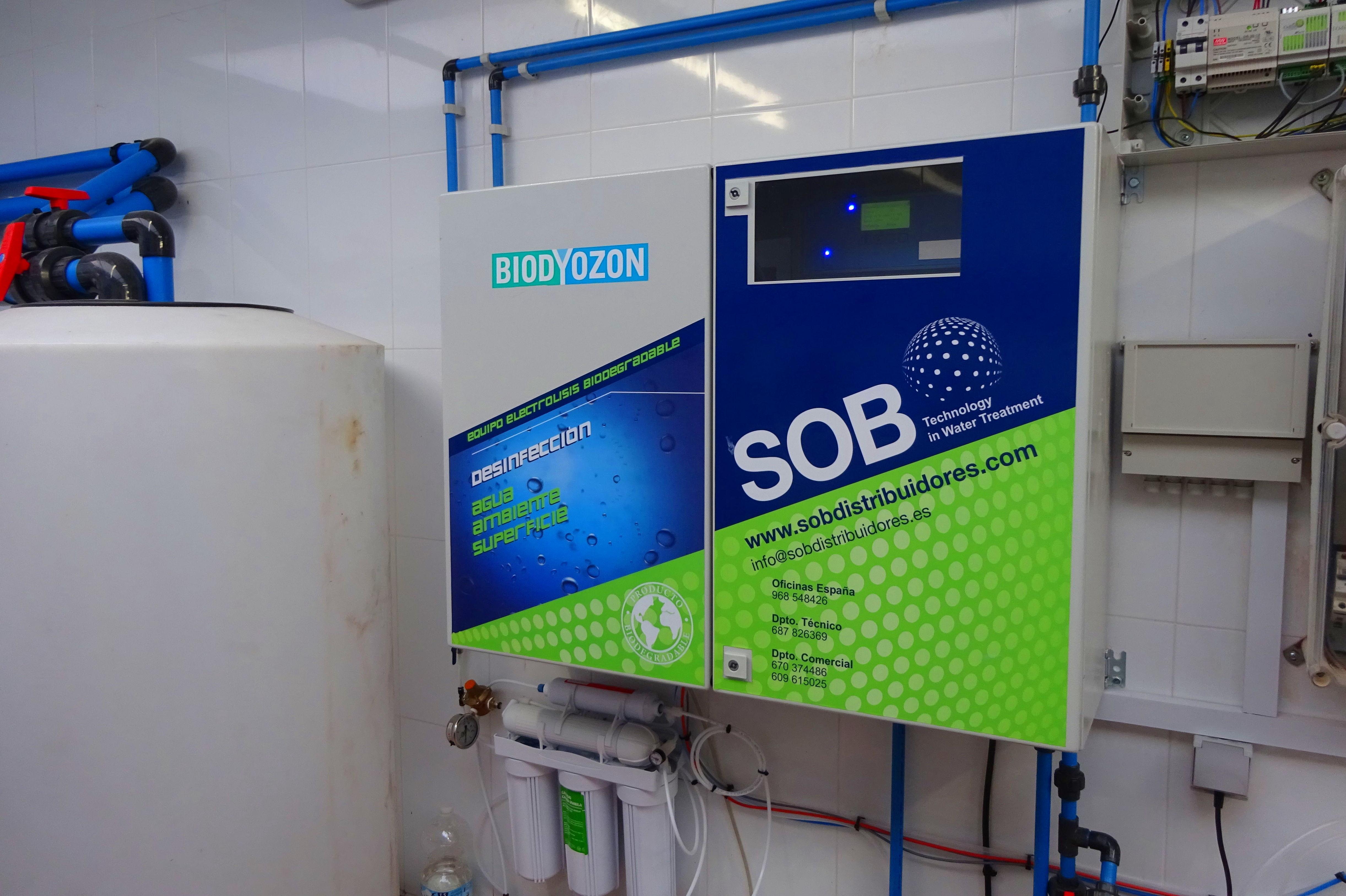 Foto 16 de Desinfección de aguas en Atamaría | SOB Distribuidores