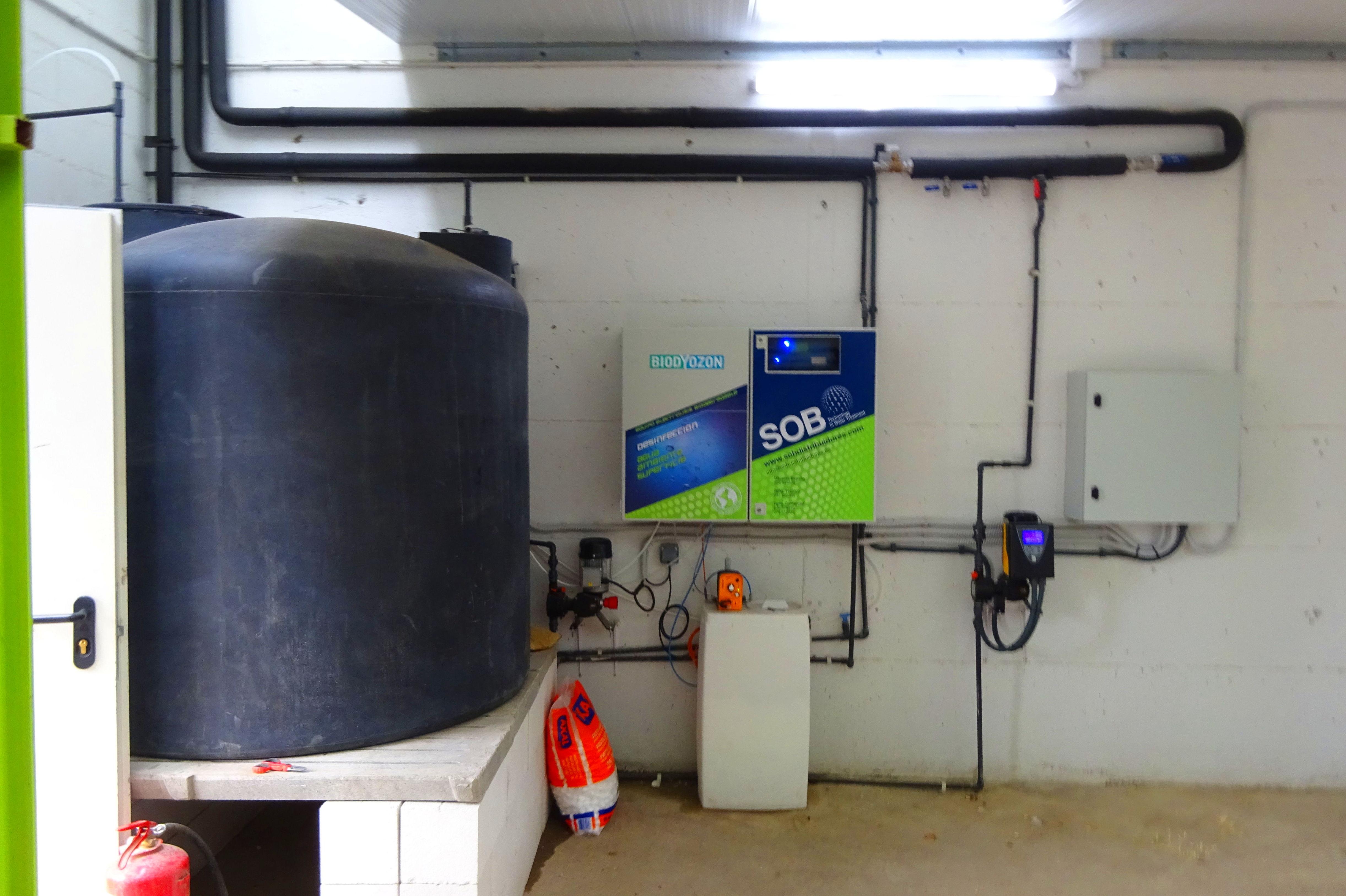 Foto 4 de Desinfección de aguas en Atamaría | SOB Distribuidores
