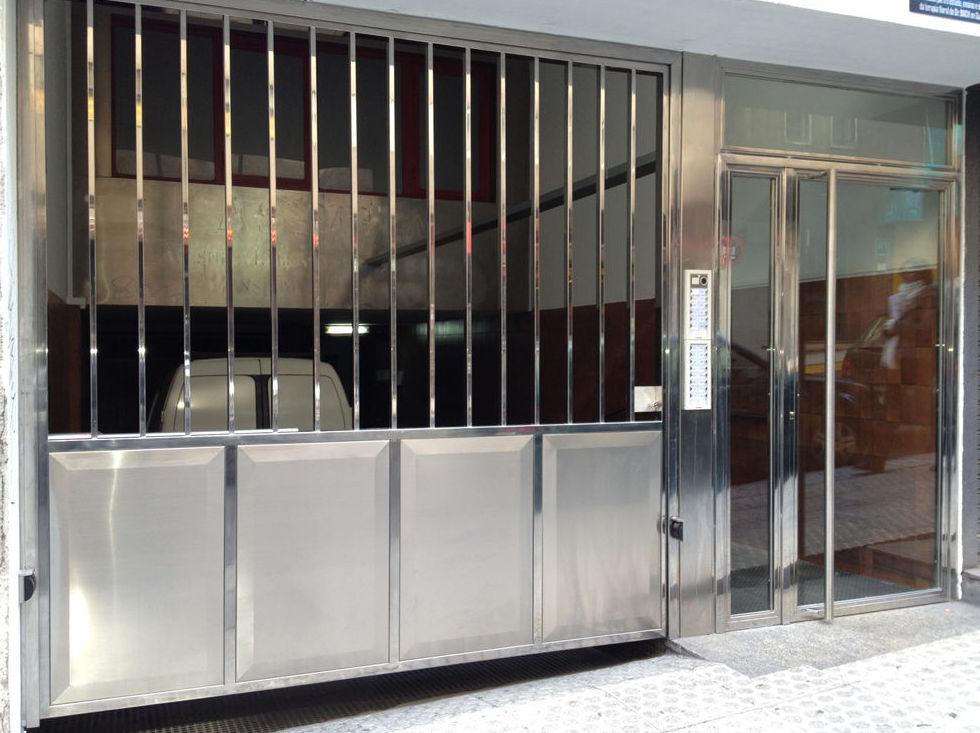 Carpintería metálica en Madrid sur