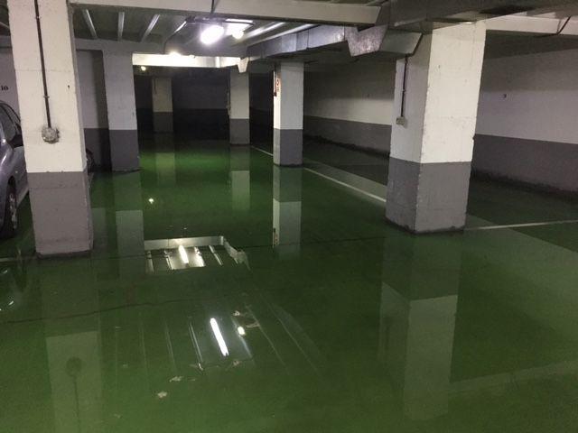 Vaciado de garajes inundados