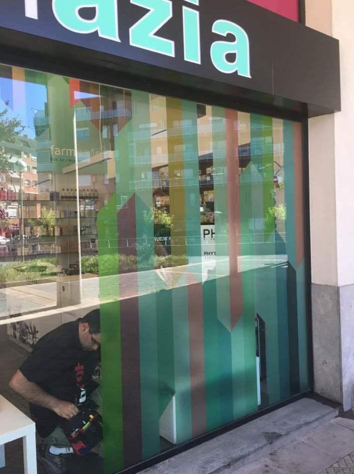 Rotulación de escaparates en Bilbao