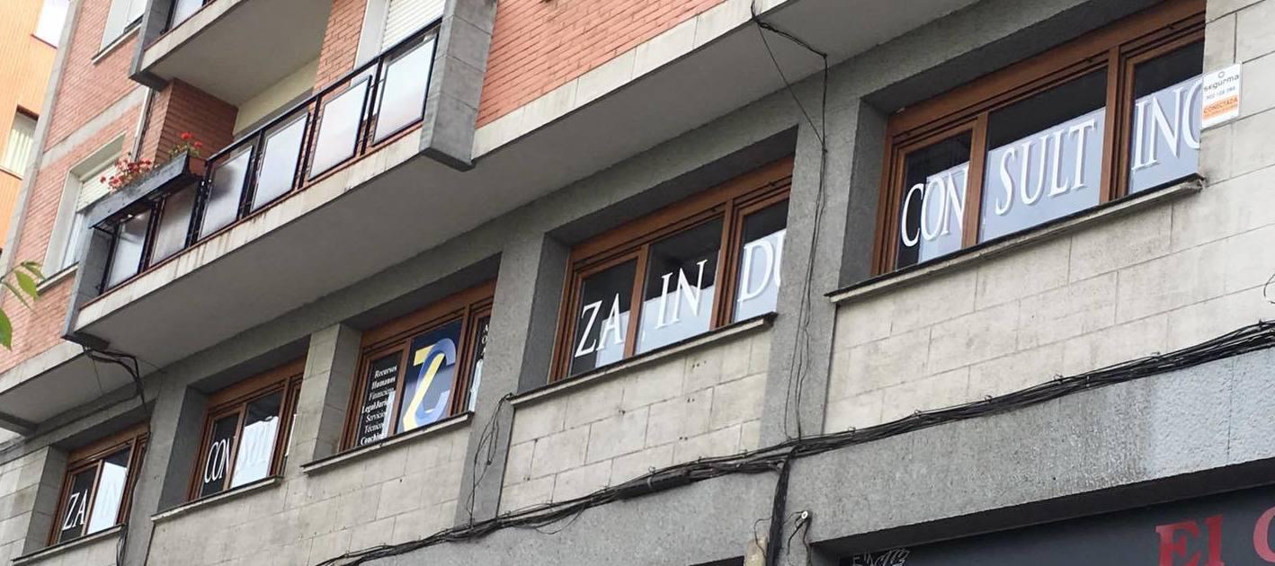 Rotulación en vinilo en Bilbao
