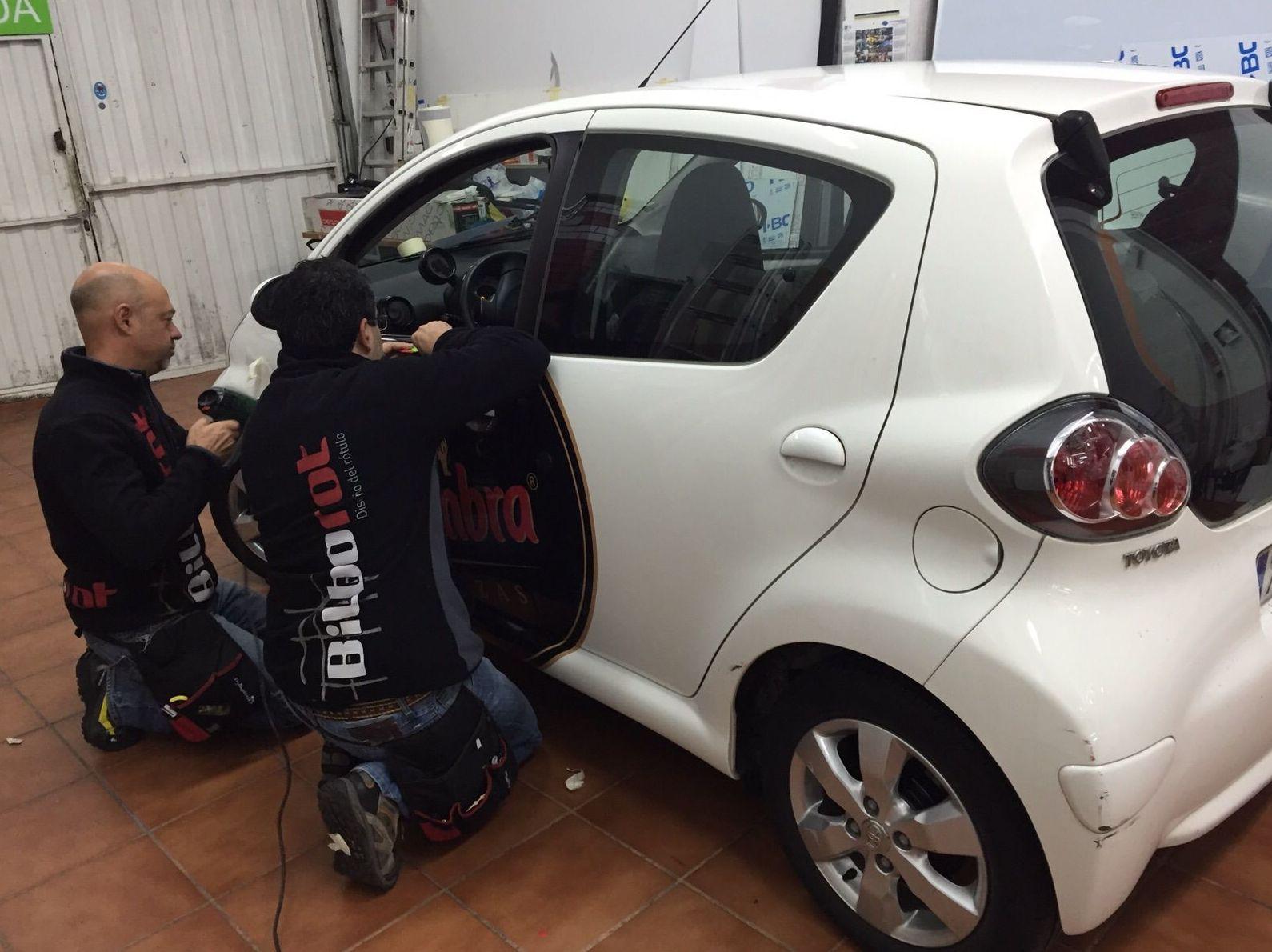 Rotulación de vehículos en Bizkaia