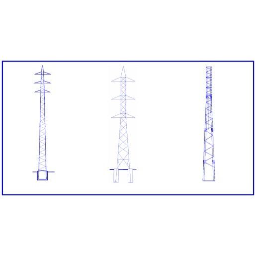 Torres para líneas eléctricas de transporte: Productos  de Postemel