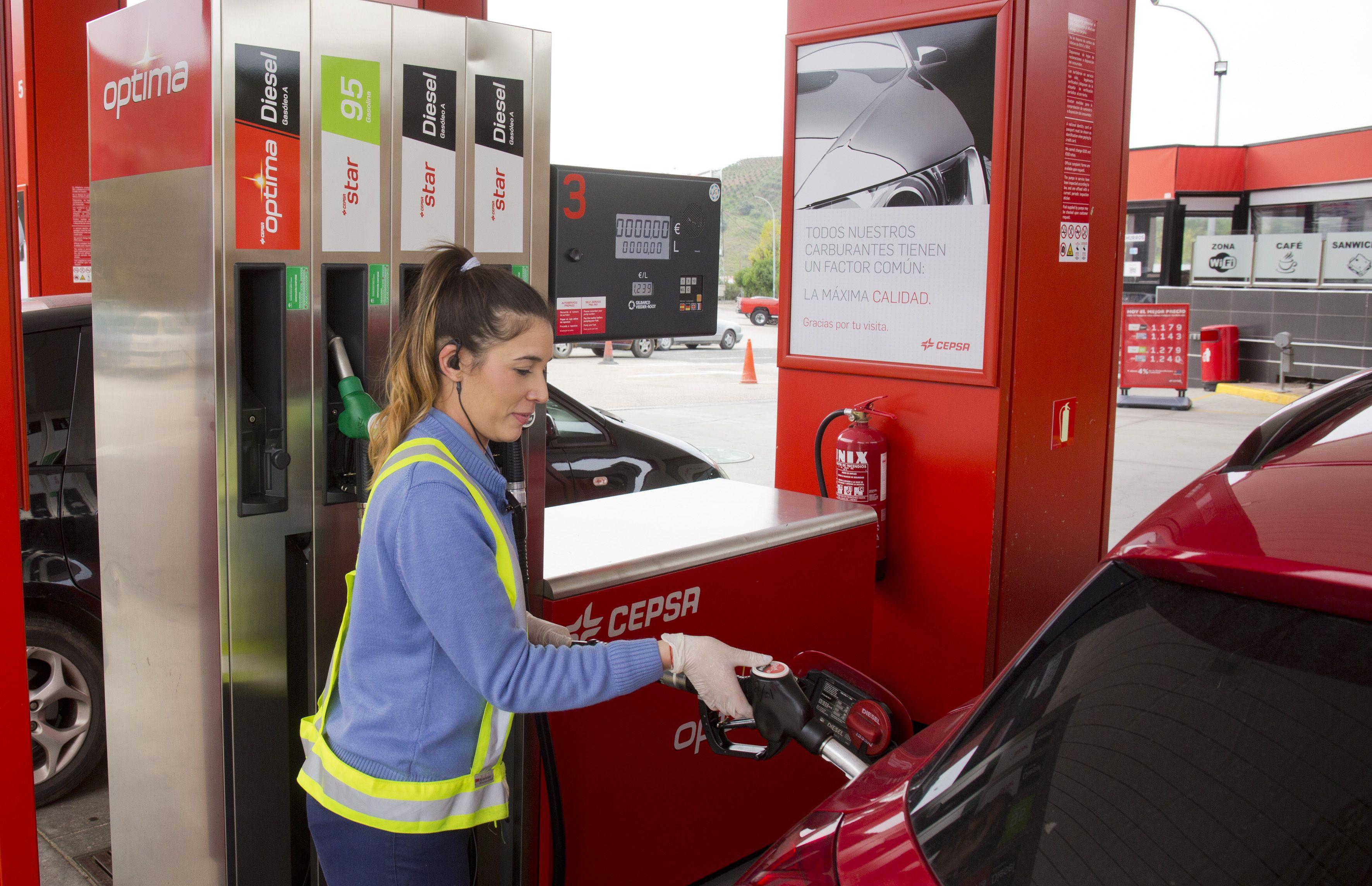 Cepsa Cajiz te ofrece combustible al mejor precio