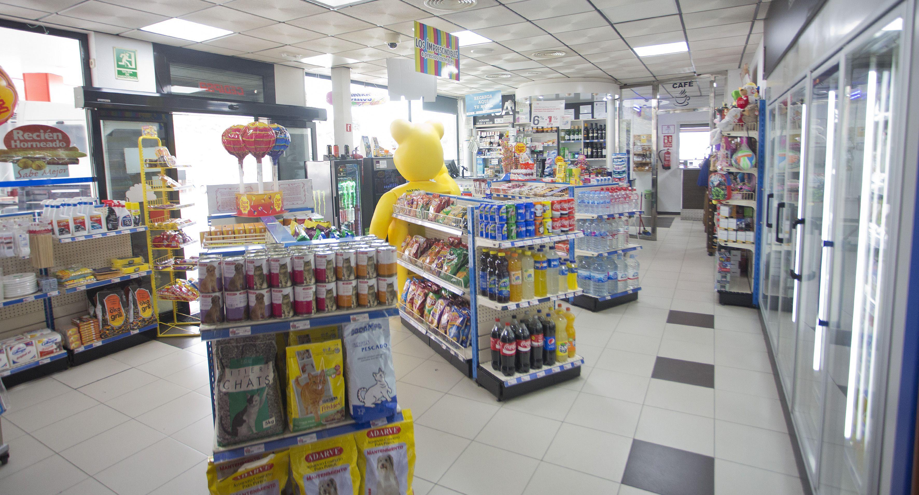 Productos de alimentación en Cepsa Cajiz