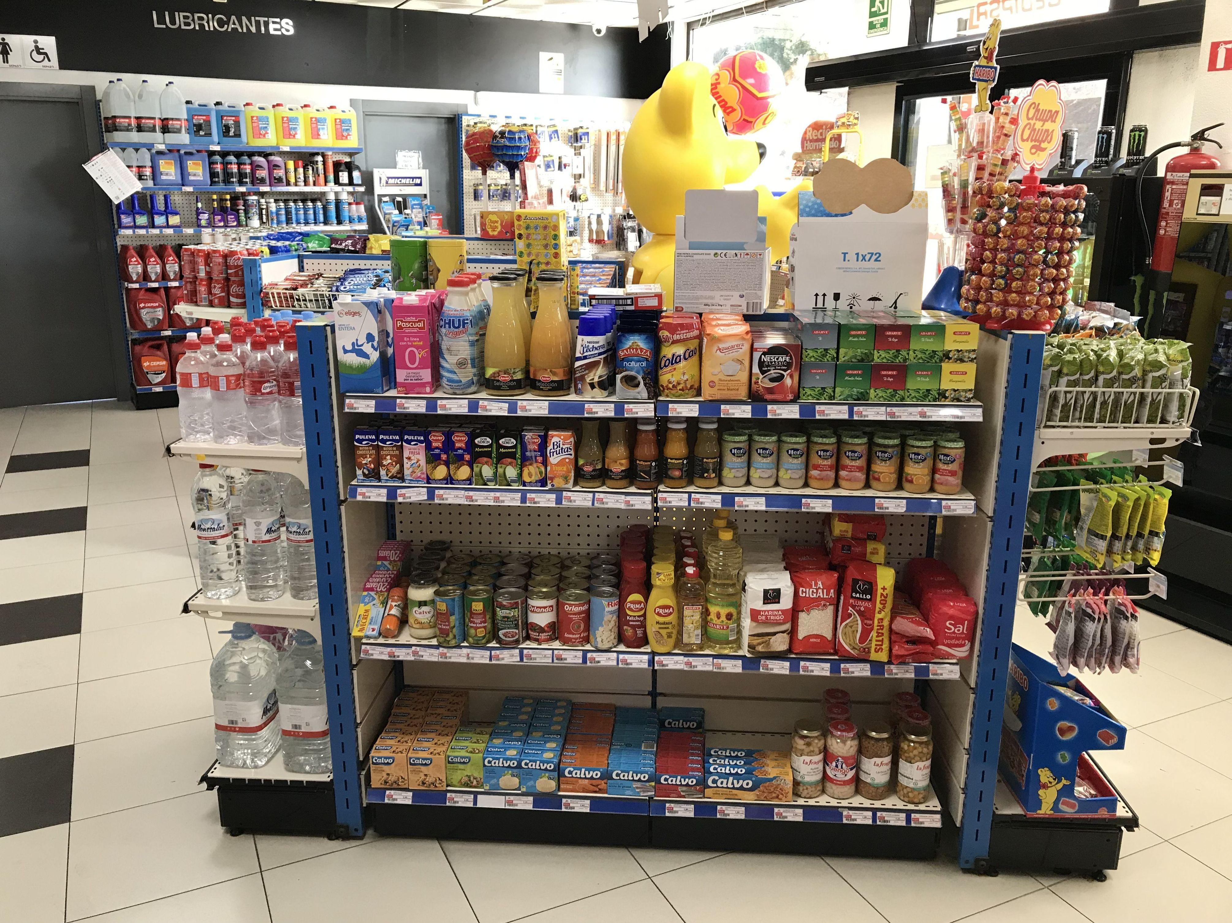 Supermercado abierto las 24 horas en Cepsa Cajiz